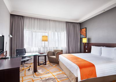 interior design photography Holiday Inn Atrium Hotel Singapore Executive Room