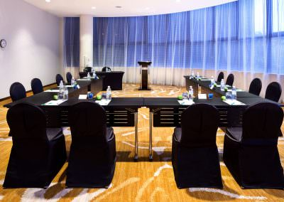 architectural photography ballrooms meeting rooms Holiday Inn Atrium Singapore Sentosa U Shape Setup