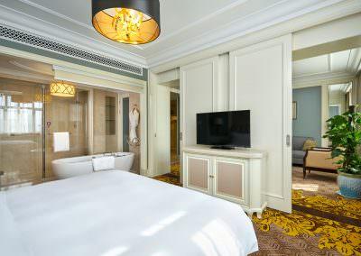 Interior Design Photography Hotel Zhengzhou - Deluxe Suite Bedroom