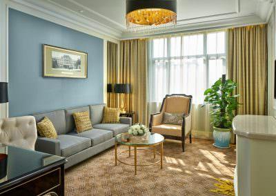 Interior Design Photography Hotel Zhengzhou - Deluxe Suite Living Area