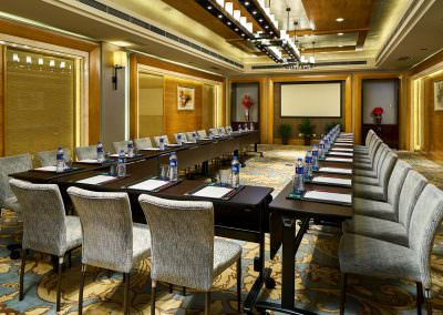 architectural photography ballrooms meeting rooms xian meeting room u shape setup