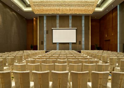 architectural photography ballrooms meeting rooms xian ballroom theatre setup