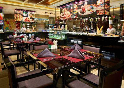 restaurant architecture photography xian restaurant buffet