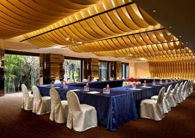 architectural photography ballrooms meeting rooms kyoto saga meeting room