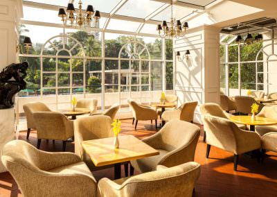 restaurant architecture photography Tanglin Club Singapore Tea Room Restaurant Atrium