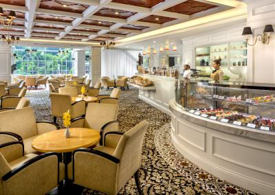 restaurant architecture photography Tanglin Club Singapore Tea Room Restaurant
