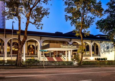 architectural photography spaces Tanglin Club Singapore Exterior Night