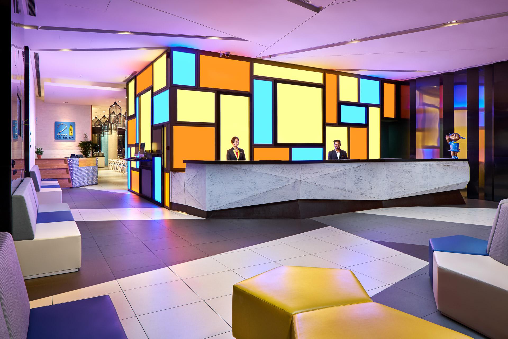 Architectural interior photographer in singapore for Designhotel 21