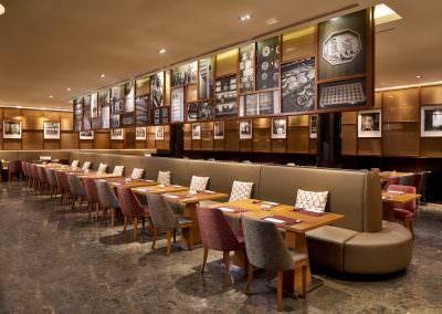 restaurant architecture photography Ramada Hotel Zhongshan Park Singapore Flavours Restaurant Interior