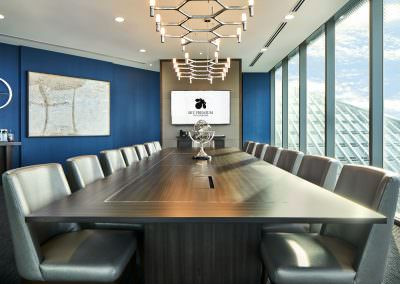 interior photography ballrooms meeting rooms Sky Premium Singapore Boardroom Angle 1