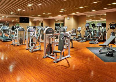 architectural photography spaces zhengiang fitness centre