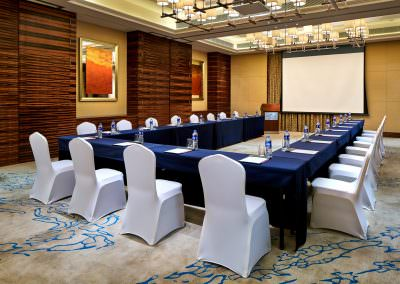 architectural photography ballrooms meeting rooms jinnan emie meili wuyi u shape
