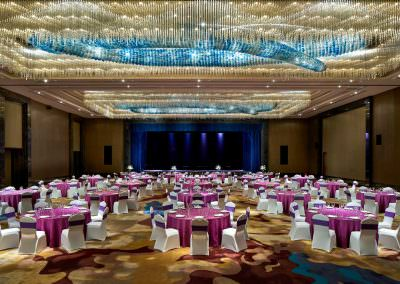 architectural photography ballrooms meeting rooms jinnan grand ballroom