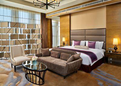 interior design photography meijiangnan ambassador suite bedroom