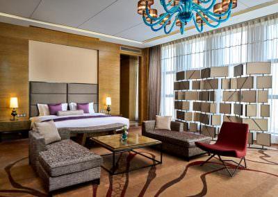 interior design photography meijiangnan presidential suite bedroom