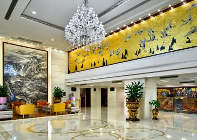 architectural photography spaces changsha hotel lobby