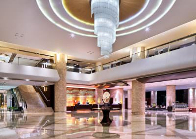 architectural photography spaces binhai hotel lobby
