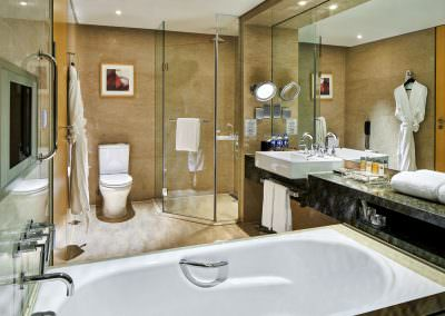 interior design photography binhai hotel room bathroom