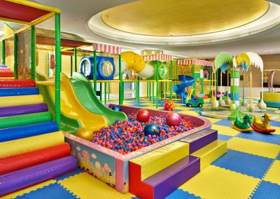 architectural photography spaces jinnan hotel feature play area