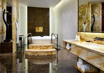 interior design photography jinnan presidential suite bathroom