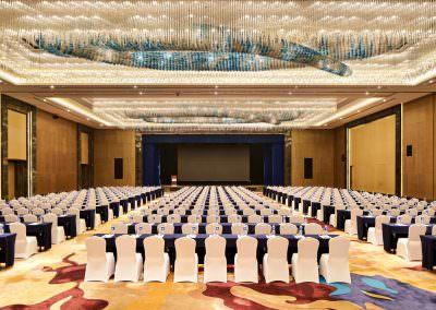architectural photography ballrooms meeting rooms jinnan ballroom classroom setup