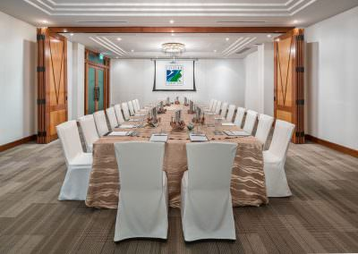 architectural photography ballrooms meeting rooms Seletar Club Kingfisher Room Setup 2