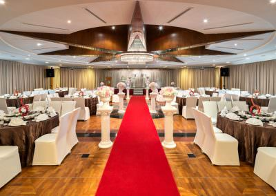 architectural photography ballrooms meeting rooms Seletar Club Singapore Seletar Room 1