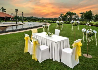 architectural photography ballrooms meeting rooms seletar club singapore wedding setup 2