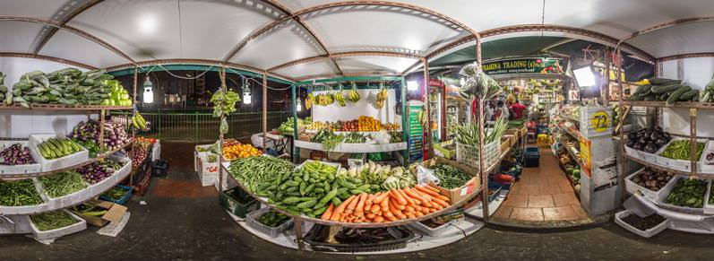 Virtual Tour Vegetable Shop in Little India, Singapore