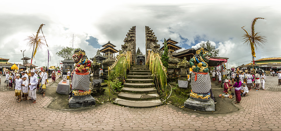 Virtual Tour Pura Ulun Danu Batur Temple in Bali