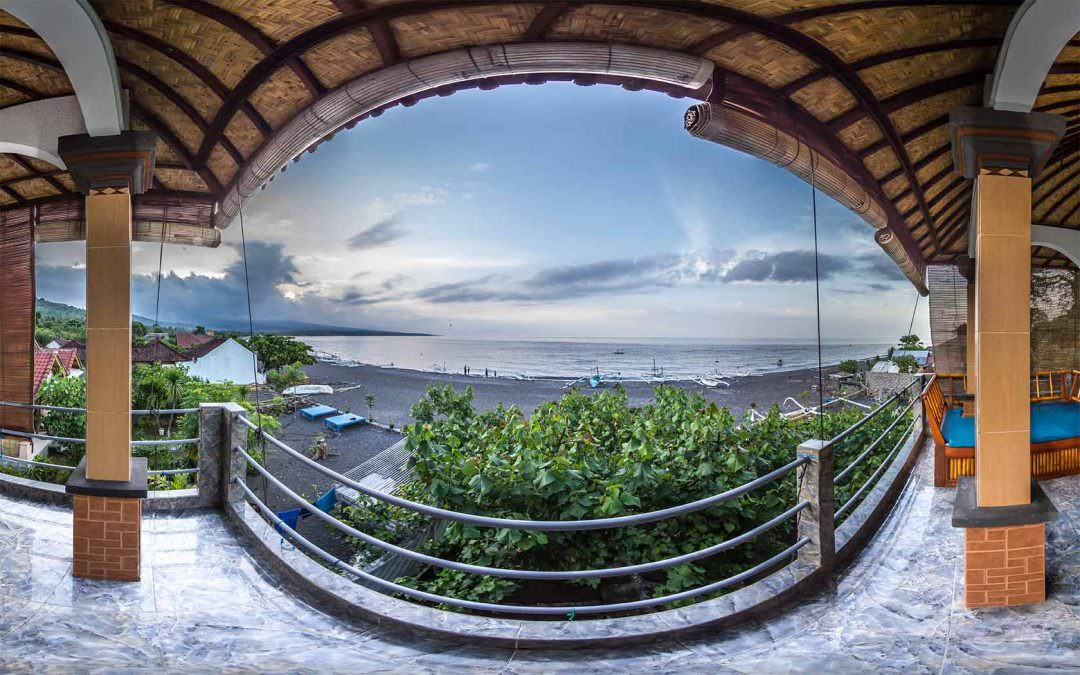 Virtual Tour for Bubu Racok Homestay in Amed, Bali