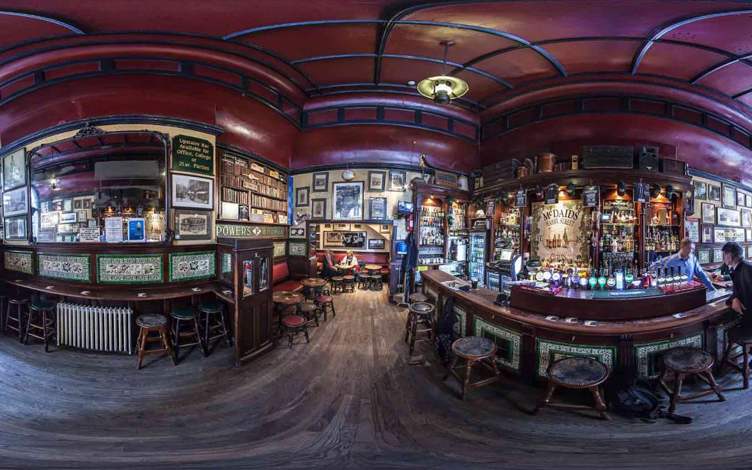 Virtual Tour of McDaids Pub in Dublin, Ireland