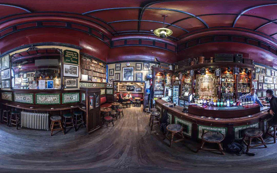 Virtual Tour of McDaids Pub in Dublin, Ireland