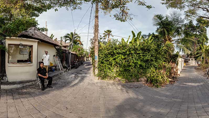 Virtual Tour Beach Walk for Villa Bugis