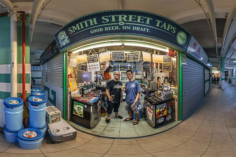 Virtual Tour Singapore – Smith Street Taps