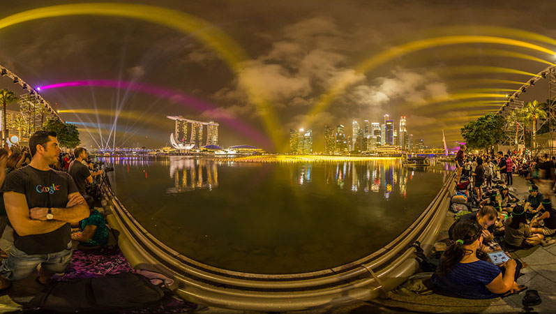 Virtual Tour Singapore – Waiting for the NYE Fireworks