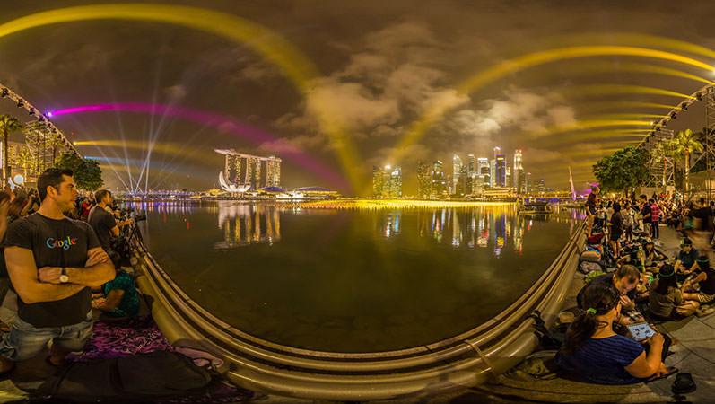 Virtual Tour Singapore – Waiting for the NYE Fireworks