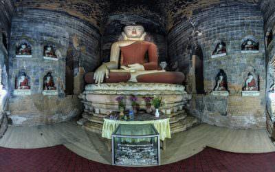 Virtual Tour of Gu Byauk Nge in Bagan, Myanmar