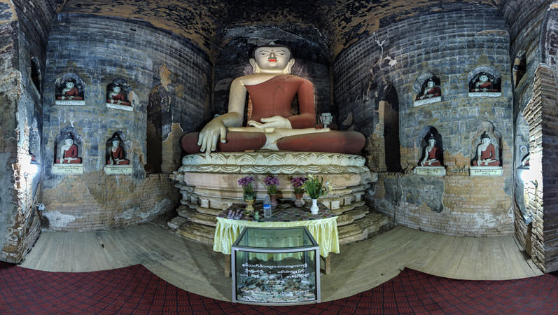 Virtual Tour of Gu Byauk Nge in Bagan, Myanmar