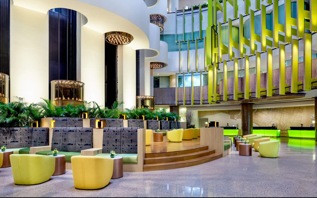 Architectural & Interior Photography for Holiday Inn Atrium Hotel, Singapore