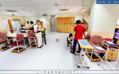 360 Virtual Tour for Saint Luke's Hospital, Singapore
