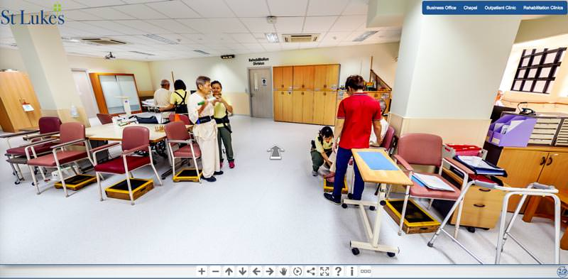 360 Virtual Tour for Saint Luke's Hospital, Singapore
