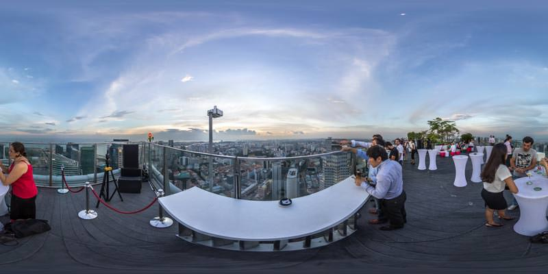 Virtual Tour at 1 Altitude Rooftop Gallery & Bar in Singapore