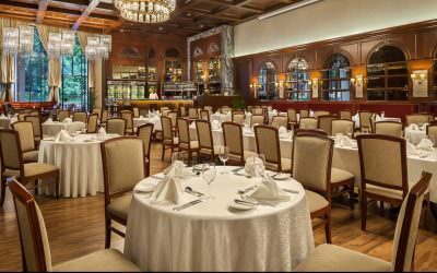 Interior Phtography | Churchill Room at The Tanglin Club Singapore