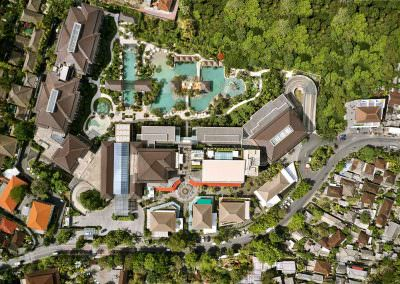 Movenpick resort bali - Aerial photography3