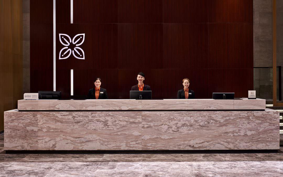 Interior Photography for Hilton Garden Inn in Foshan China