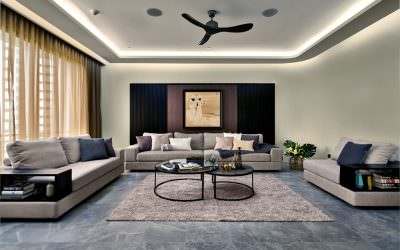 Interior Photography at Fontana Heights in Singapore