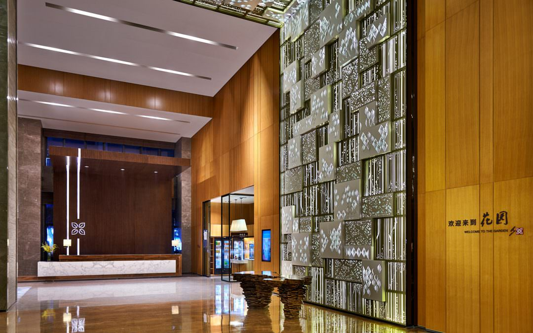 Hotel Interior Photography for Hilton Garden Inn Shenzhen China
