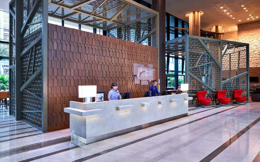 Hotel Photography for Holiday Inn Express Clark Quay Singapore