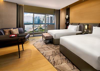 Swissotel Singapore Twin Harbour view